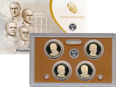 Изображение Подарочные монеты США Выпуск 2014 года 2014  Proof Представляем Вашему