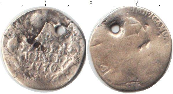Картинка Монеты 1762 – 1796 Екатерина II 1 гривенник Серебро 1770