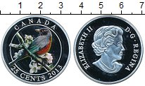Изображение Монеты Канада 25 центов 2013 Серебро Proof-