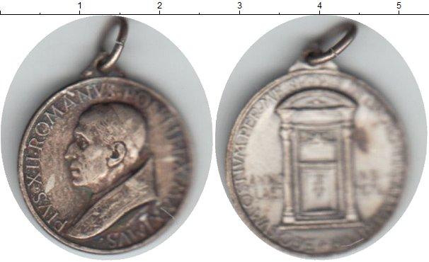Картинка Монеты Ватикан жетон Серебро 0