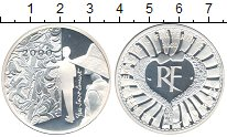 Изображение Монеты Франция 10 франков 2000 Серебро Proof