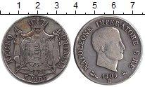 Изображение Монеты Италия 5 лир 1809 Серебро