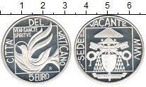 Изображение Монеты Ватикан 5 евро 2005 Серебро Proof- Cвятой престол вакан