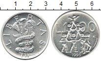 Изображение Монеты Сан-Марино 1.000 лир 1995 Серебро UNC- Акробатика