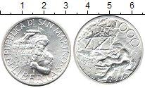 Изображение Монеты Сан-Марино 1.000 лир 1994 Серебро UNC-