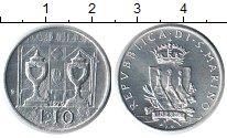 Изображение Монеты Сан-Марино 10 лир 1979 Алюминий UNC-