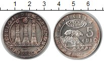 Изображение Монеты Сан-Марино 5 евро 2008 Серебро XF Планета земля