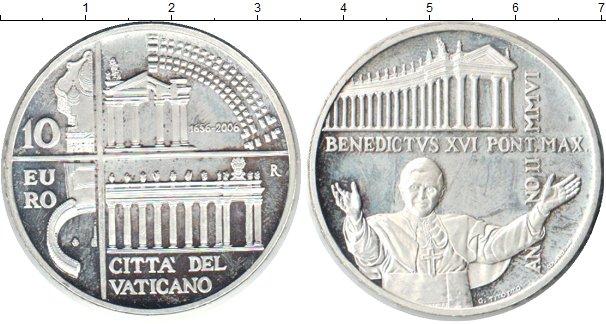 Картинка Монеты Ватикан 10 евро Посеребрение 2006