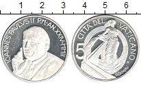 Изображение Монеты Ватикан 5 евро 0 Серебро Proof-