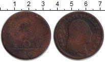 Изображение Монеты Сицилия 6 торнеси 1800 Медь