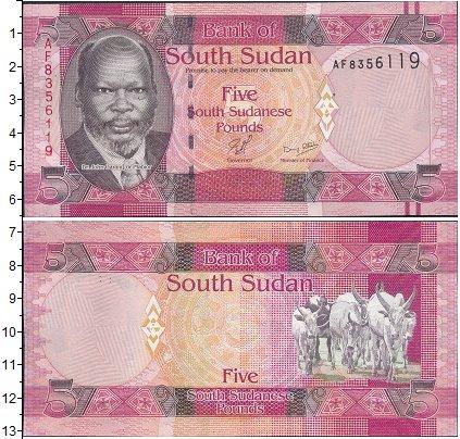 Картинка Боны Судан 5 фунтов  0