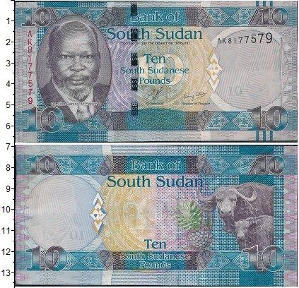 Картинка Боны Судан 10 фунтов  0