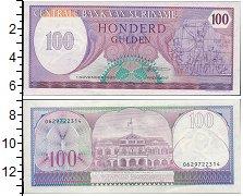 Изображение Банкноты Суринам 100 гульденов 1996  UNC-