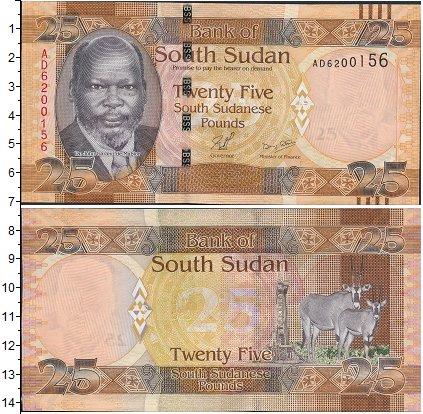 Картинка Боны Судан 25 фунтов  0
