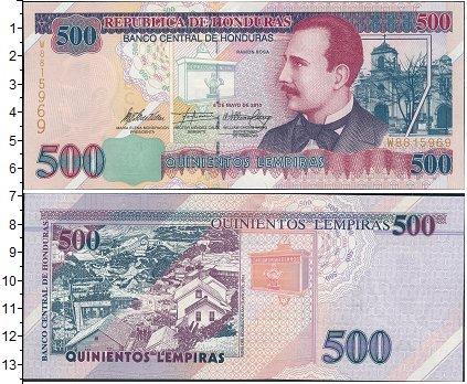 Картинка Боны Гондурас 500 лемпир  0
