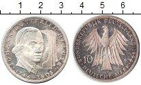 Изображение Монеты ФРГ 10 марок 1994 Серебро Proof- Иоганн Гердер