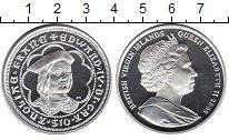Изображение Монеты Виргинские острова 10 долларов 2008 Серебро Proof- Елизавета II. Эдвард