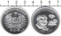 Изображение Монеты Германия жетон 0 Серебро Proof- Карл Шпитцвайг