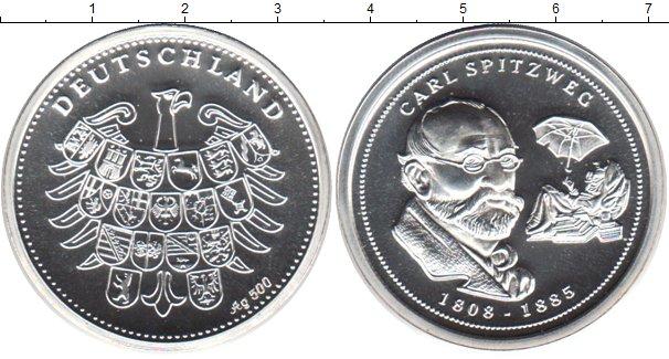 Картинка Монеты Германия жетон Серебро 0