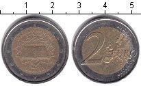 Изображение Монеты Испания 2 евро 2007 Биметалл XF РИМСКИЙ ДОГОВОР
