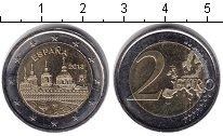 Изображение Монеты Испания 2 евро 2013 Биметалл UNC- Монастырь Эскориал