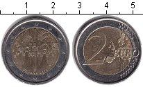 Изображение Монеты Испания 2 евро 2010 Биметалл XF Исторический центр г