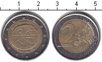 Изображение Монеты Испания 2 евро 2009 Биметалл XF