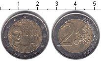 Изображение Монеты Франция 2 евро 2010 Биметалл XF 70 лет речи Шарля де