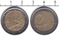 Изображение Монеты Италия 2 евро 2006 Биметалл XF 20-е Зимние Олимпийс