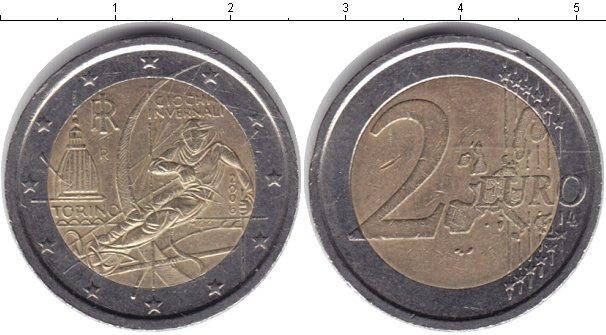 Картинка Монеты Италия 2 евро Биметалл 2006