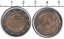 Изображение Монеты Испания 2 евро 2009 Биметалл UNC-