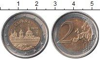 Изображение Монеты Испания 2 евро 2013 Биметалл XF Монастырь Эскориал