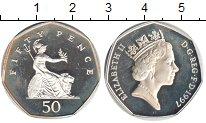Изображение Монеты Великобритания 50 пенсов 1997 Медно-никель Proof- Елизавета II.