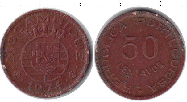 Картинка Монеты Мозамбик 50 сентаво Медь 1974