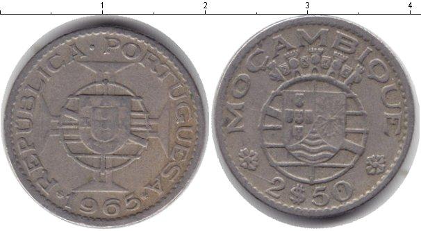 Картинка Монеты Мозамбик 2 1/2 эскудо Медно-никель 1965
