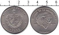Изображение Монеты Куба 1 песо 1985 Медно-никель Proof- Попугай