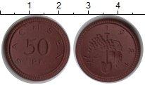 Изображение Монеты Саксония 50 пфеннигов 1921 Керамика UNC-
