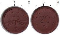 Изображение Монеты Саксония 20 пфеннигов 1921 Керамика UNC-
