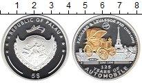 Изображение Монеты Палау 5 долларов 2011 Серебро Proof- 125 лет автомобилю.