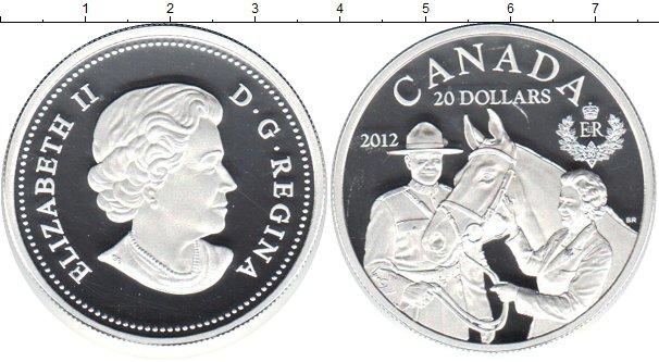 Картинка Монеты Канада 20 долларов Серебро 2012