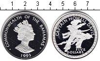 Изображение Монеты Багамские острова 5 долларов 1993 Серебро Proof Выдающиеся личности