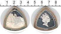 Изображение Монеты Бермудские острова 3 доллара 1997 Серебро XF