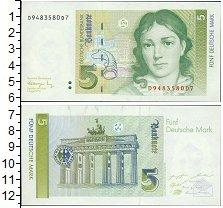 Изображение Боны ФРГ 5 марок 1991  UNC