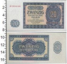 Изображение Банкноты Германия 20 марок 1955  UNC- <br>Берлин