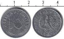 Изображение Монеты Третий Рейх 10 пфеннигов 1947 Цинк VF F