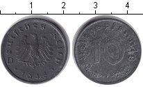 Изображение Монеты Третий Рейх 10 пфеннигов 1948 Цинк XF F