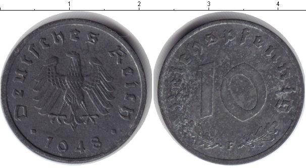 Картинка Монеты Третий Рейх 10 пфеннигов Цинк 1948