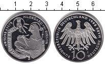 Изображение Монеты Германия 10 марок 1998 Серебро Proof- Хильдегард фон Бинге