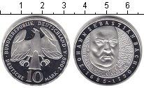 Изображение Монеты Германия 10 марок 2000 Серебро UNC