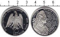Изображение Монеты Германия 10 марок 1999 Серебро UNC